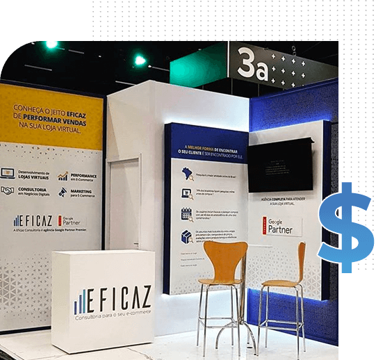 stand da Eficaz Marketing no Mercado Livre Ecperience MELIX