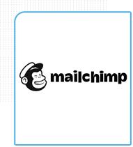 Ferramenta de e-mail marketing Mailchimp parceira da Eficaz Marketing