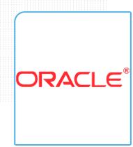 Logo da empresa ERP Oracle parceira da Eficaz Marketing