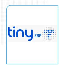 Logo da empresa TYNY ERP parceira da Eficaz Marketing