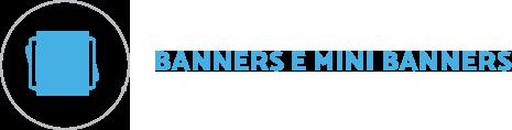 ícone que representa banners e mini banners de uma loja online