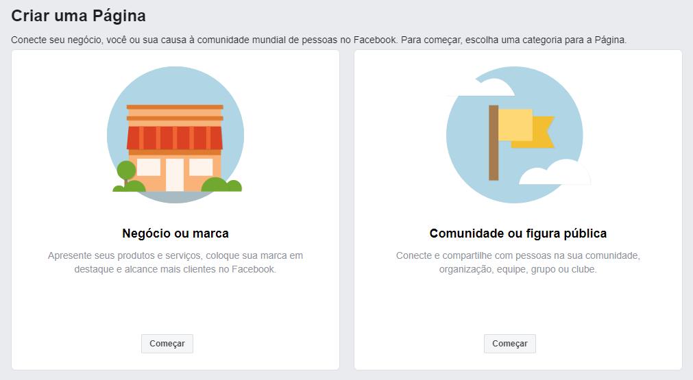 Como Criar uma Página Comercial no Facebook