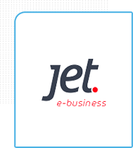 logo da plataforma de e-commerce jet E-business
