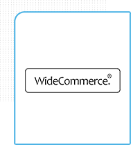 logoda plataforma de e-commerce widecomm