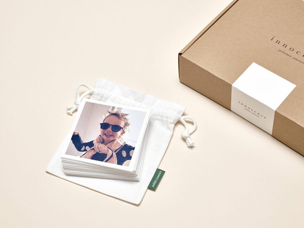 unboxing experience caixa de fotos personalizada para fidelização de clientes