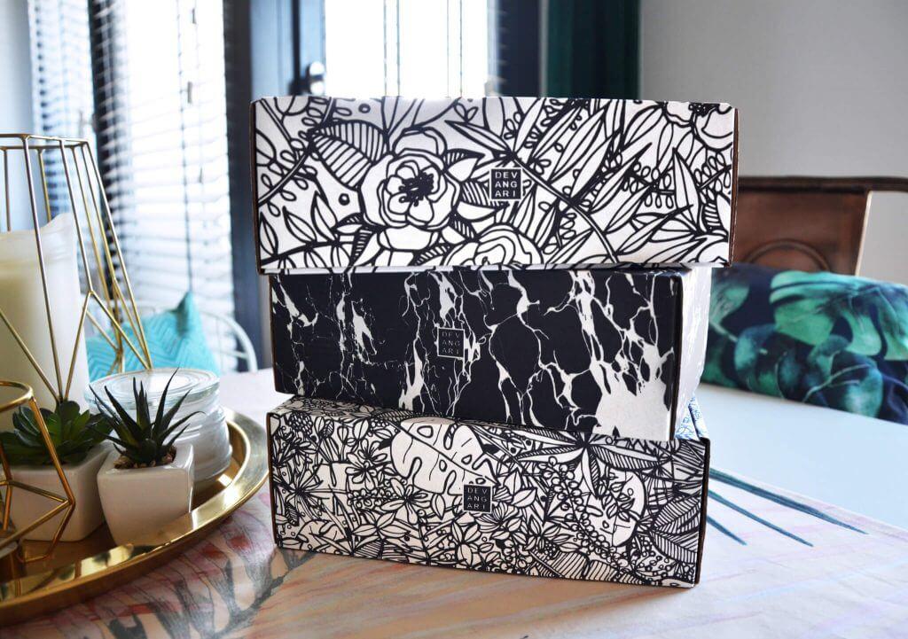 unboxing experience com caixas personalizadas