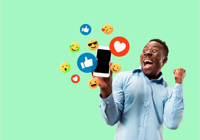 criação de conteúdo para redes sociais com social media optimization
