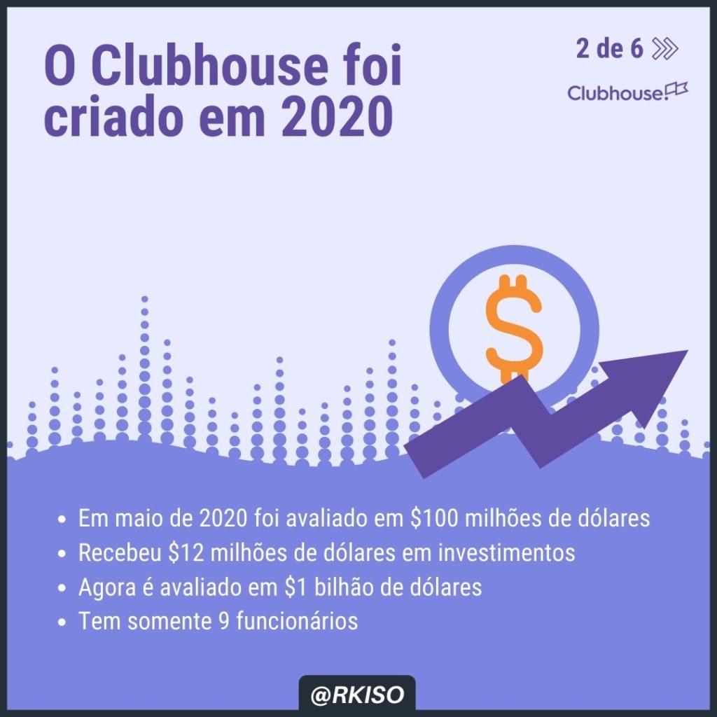 Dados do Clubhouse por @rkiso