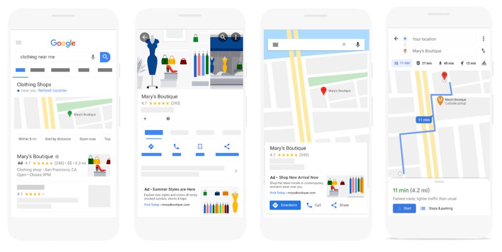 campanhas locais em google ads